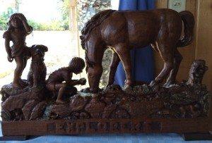 Beverly Mosier - Wood Carving - Explorers
