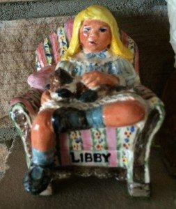 Beverly Mosier - Clay Figurine - Libby