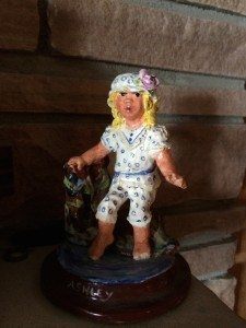 Beverly Mosier - Clay Figurine - Ashley